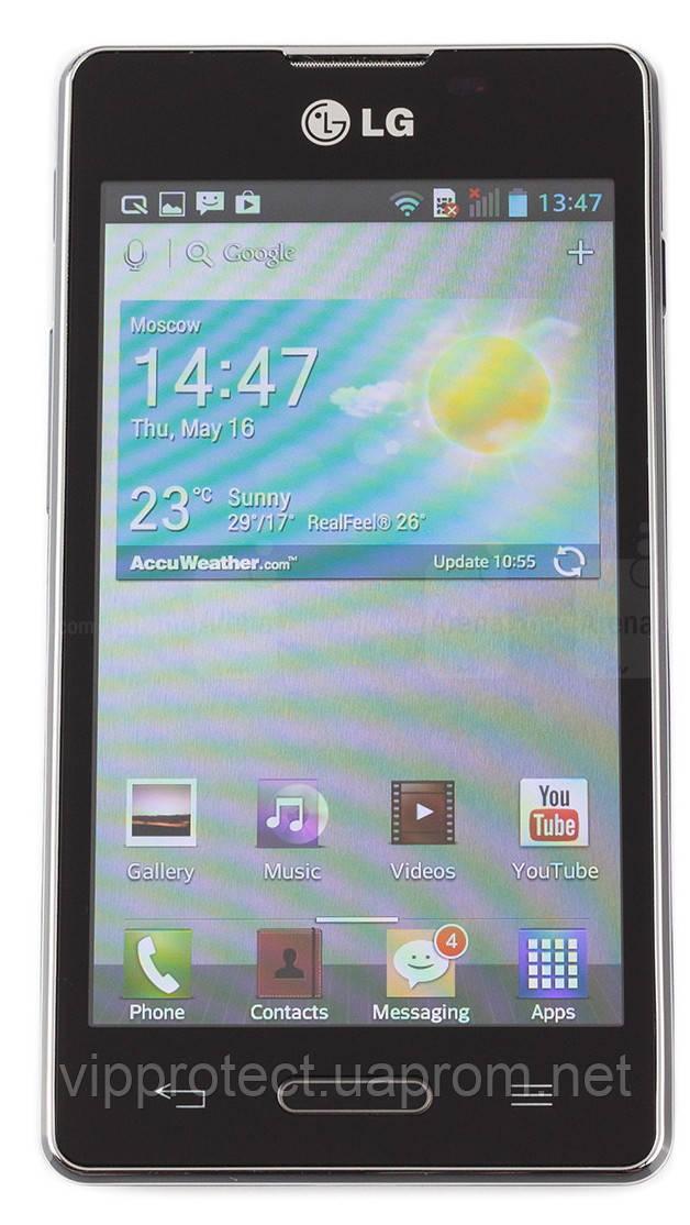 LG_E616, глянцевая пленка Optimus L5 Dual
