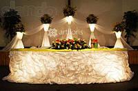 Цветочные стойки   с цветами, подставки для цветов, светящиеся стойки для оформления зала