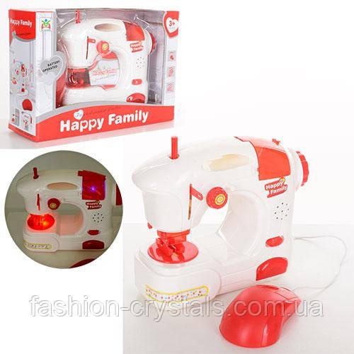 Детская швейная машина happy family 21см