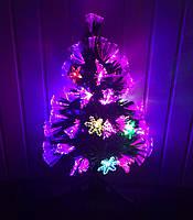 Светодиодная, светящаяся елка Северное сияние 60 см