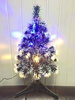 Светодиодная, светящаяся елка Снегопад 60 см