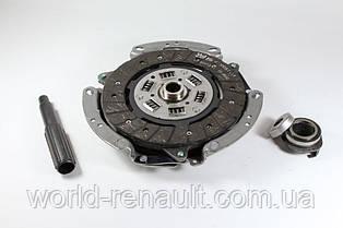 Комплект сцепления на Рено Логан 2, Сандеро Степвей 2 К7М 1.6i 8V - КПП JH3/ Renault ORIGINAL 302052223R