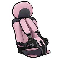 Детское бескаркасное автокресло Child Car Seat розовый