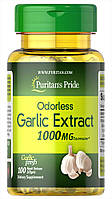 Puritan's Pride Garlic 1000 mg 100 softgels, Чеснок 1000 мг 100 капсул