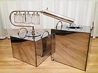 Перегонный аппарат бытовой с сухопарником, барботером, ароматизатором и ёмкостью 45 литров