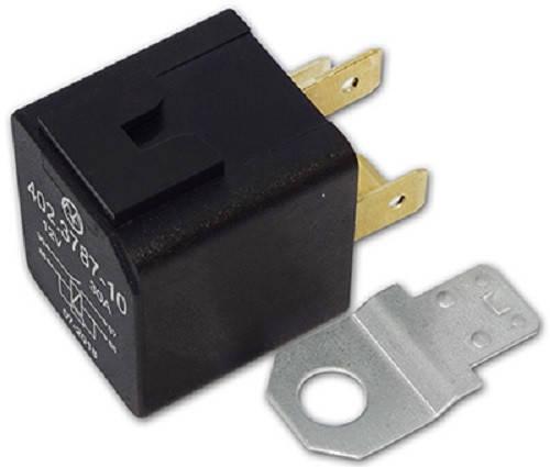 Реле электромагнитное 402.3787-10 12В, 30А, 4-х контактное, фото 2