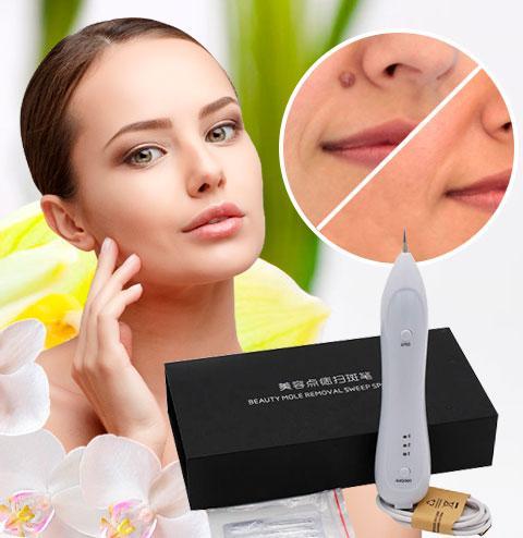Лазерная ручка BeautyMoleRemovalSweepSpotPen для удаления пятен на коже, папиллом, родинок и тату