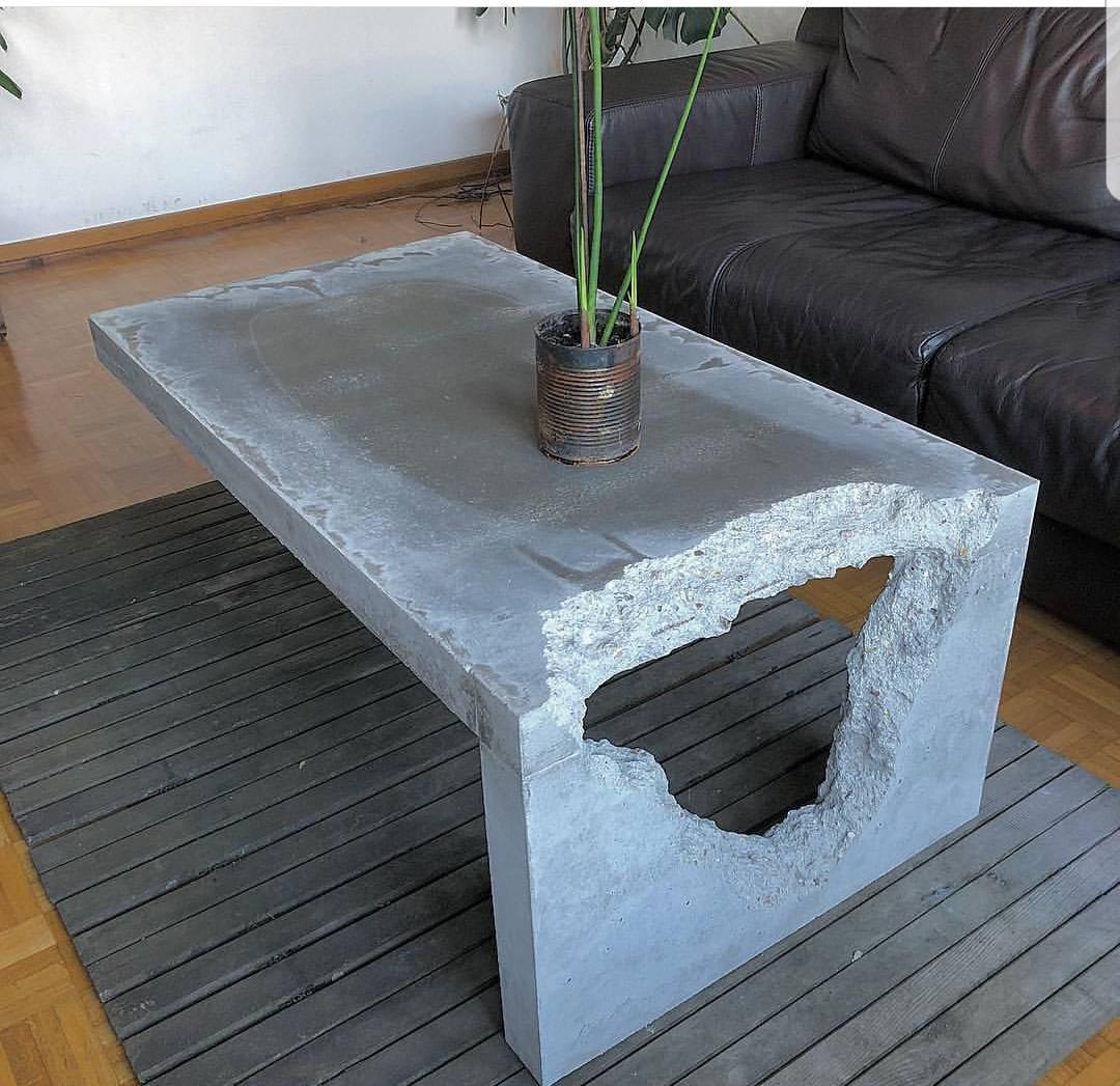 Мебель из бетона на заказ кривая прочности бетона