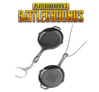Брелок PUBG скоровородка bluehole Inc.PLAYERUNKNOWN'S BATTLEGROUNDS кулон