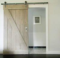 Амбарные раздвижные двери z в лофт loft стиле