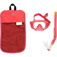 Набор для сноркелинга маска, трубка 520 Subea детский