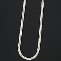 "Серебряная цепочка ""Снейк"" 4100228"