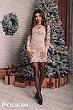 Женское платье из гипюра (4 цвета), фото 2