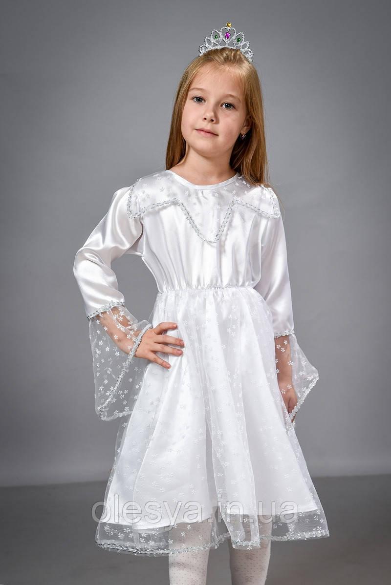 Детский маскарадный костюм Снежинка, костюм снежинки, костюм карнавальный для девочки, дропшиппинг