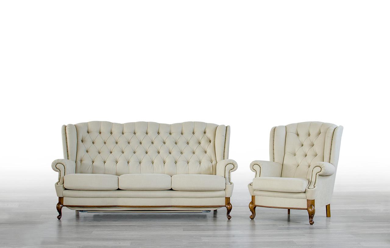 Кресло Лорд Мебус нераскладное кожа