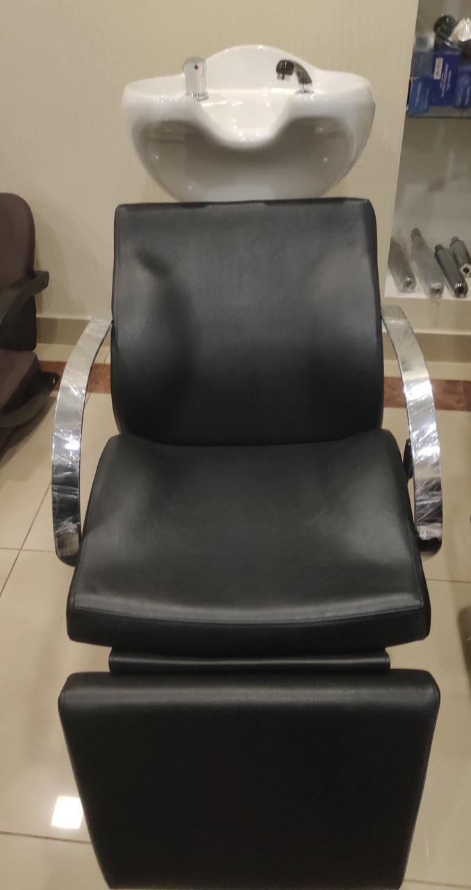 Парикмахерская кресло мойка с подножкой Е011