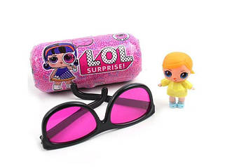 Кукла LOL Капсула + очки кукла ЛОЛ в капсуле + очки копия подарок для девочки кукла в капсуле!
