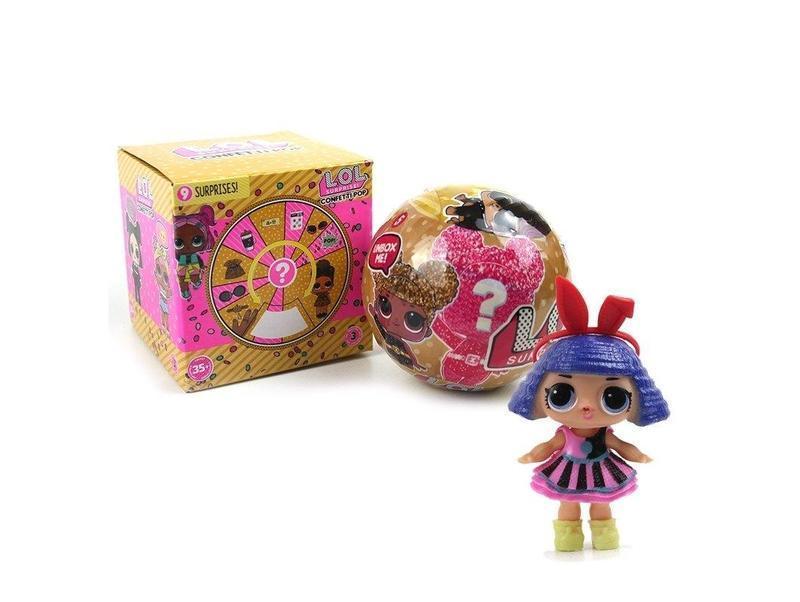 Кукла LOL Confetti Pop серия 9 GOLD кукла ЛОЛ серия 9 золотая копия подарок для девочки кукла в шаре