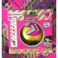 Кукла LOL Серия 12 gold Edition кукла ЛОЛ серия 12 золотая копия подарок для девочки кукла в шаре!
