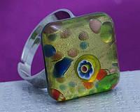 Хиты сезона мода муранского кольца Муранское стекло в разной цветовой гамме