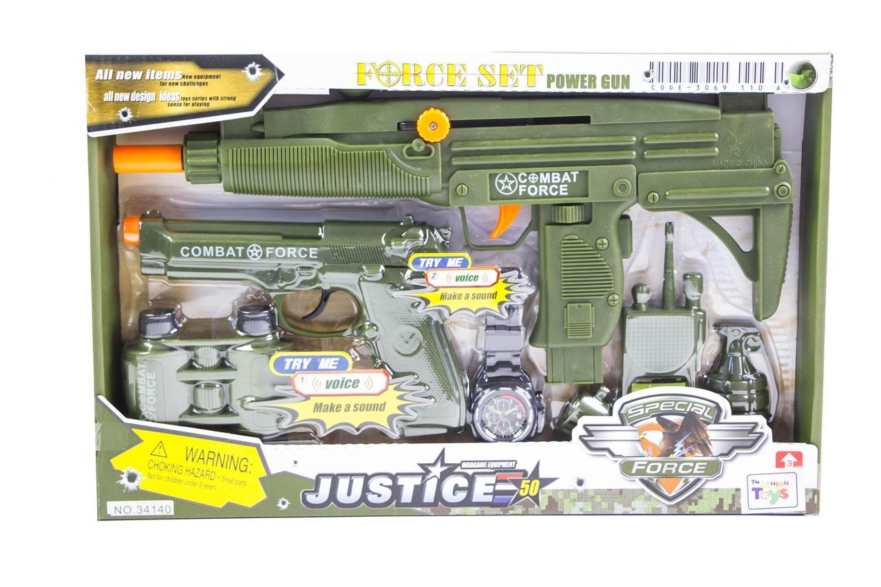 Детский набор военный спецназ 34140 Гарантия качества Быстрая доставка