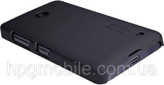 Чехол для Nokia Lumia 630 - Nillkin Super Frosted Shield (пленка в комплекте)