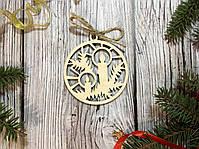 Набор деревянных игрушек Happy New Year, фото 6