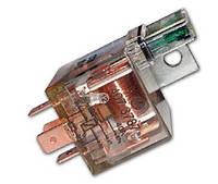 Реле электромагнитное 407.3787 12В 40А 5-ти контактное с предохранителем и светодиодом