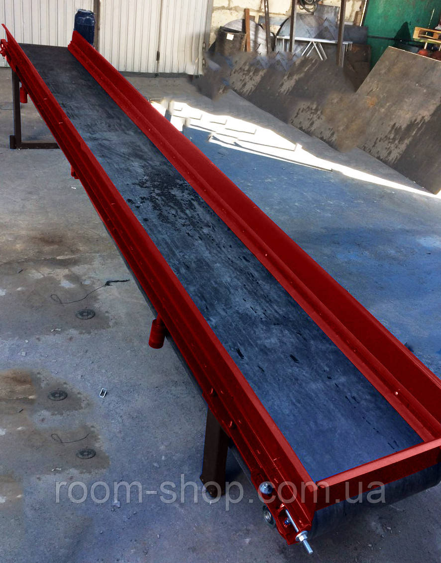Ленточный погрузчик (конвейер) ширина 700 мм длинна 8 м.