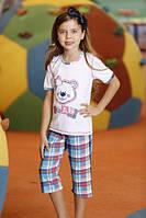 Комплект для сна детский 6537 футболка+капри Berrak