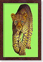 """Репродукция  современной картины """"Леопард"""""""