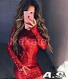Женское платье из пайетки (в расцветках), фото 3