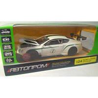 """Машинка """"Bentley Continental GT3"""" из серии """"Автопром"""" (белая) 68266A"""
