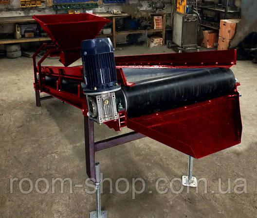 Ленточный (конвейер) транспортер ширина 400 мм длинна 10 м., фото 2
