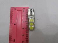 Автомобильная светодиодная лампа диод без цоколя для освещения габаритов T10-5050-6SMD-с силикон CAMB( Китай), фото 1
