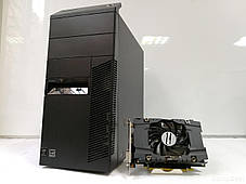 Lenovo M83 Tower / Intel® Core™ i5-4570 (4 ядра по 3.20 - 3.60 GHz) / 12GB DDR3 / 500GB HDD + SSD Kingston 120GB NEW / Видеокарта GF GTX 1060 (6GB, фото 2