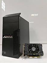 Lenovo M83 Tower / Intel® Core™ i5-4570 (4 ядра по 3.20 - 3.60 GHz) / 12GB DDR3 / 500GB HDD + SSD Kingston 120GB NEW / Видеокарта GF GTX 1060 (6GB, фото 3