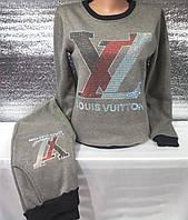 Спортивный костюм на флисе женский Louis Vuitton (S/42), фото 1
