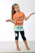 Комплект для сна детский 37370 футболка+капри