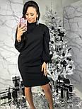 Женское прямое платье с карманами (3 цвета), фото 3