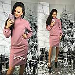 Женское прямое платье с карманами (3 цвета), фото 4