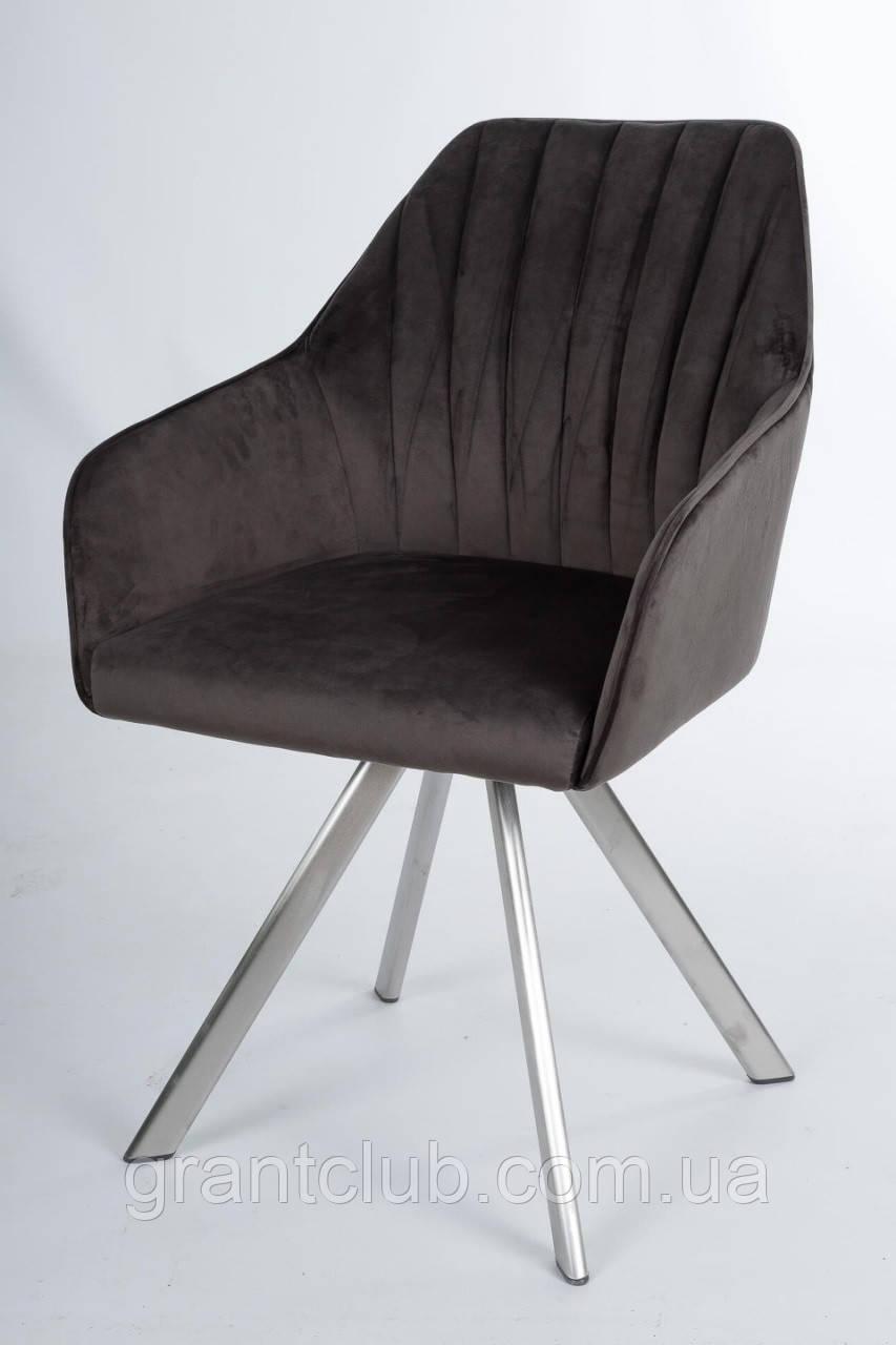 Кресло поворотное GALERA антрацит (бесплатная доставка)