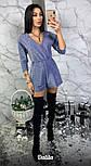 Женский комбинезон из люрекса шортами (3 цвета), фото 3