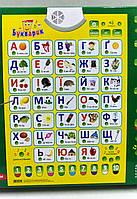 Плакат обучающий 'Букварик' (украинский язык) (7031)