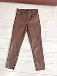 Женские брюки из эко-кожи утепленные (2 цвета), фото 6