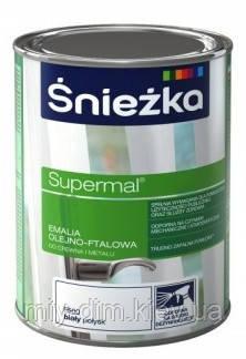 SUPERMAL олійно-фталева коричнева 0,8мл/0,9кг F535, RAL8016 /PL