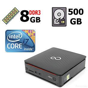 Fujitsu-Siemens Esprimo Q520 USFF / Intel® Core™ i7-4770 (4 (8) ядра по 3.40 - 3.90 GHz) / 4 GB DDR3 / 320 GB HDD / Intel HD Graphics 4600, фото 2