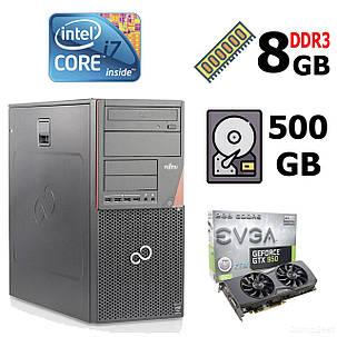 Fujitsu-Siemens Esprimo P920 E85+ MT / Intel® Core™ i7-4770 (4 (8) ядра по 3.40 - 3.90 GHz) / 8 GB DDR3 / 500 GB HDD / nVidia GeForce GTX950 (2GB, фото 2