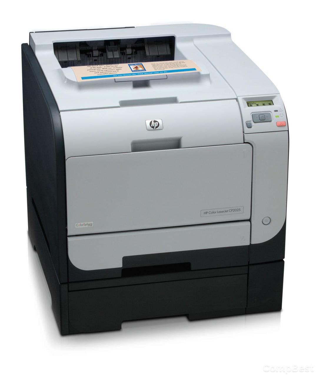 HP CLJ CP2025 / лазерная цветная печать / 600 x 600 dpi / до 20 стр./мин