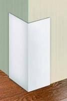 Кут захисний арочний 10х20мм Білий ПВХ 100, 2,7м